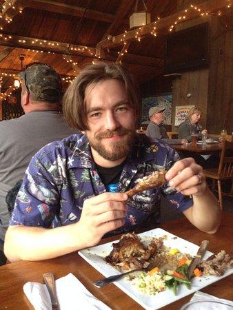 Shovel Handle Pub: happy hubby