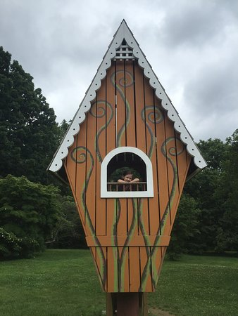 Media, PA: Kids love the treehouses