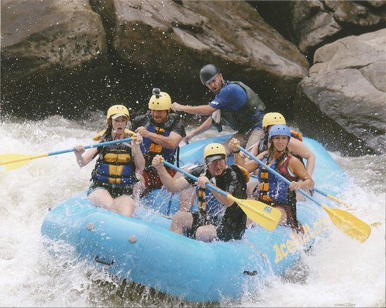 Oak Hill, Virginia Barat: Rafting the New River