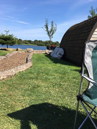 Driffield, UK: Beautiful lakeside retreat