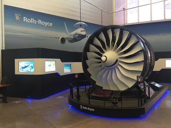 Мукилтео, Вашингтон: Boeing Flight Center