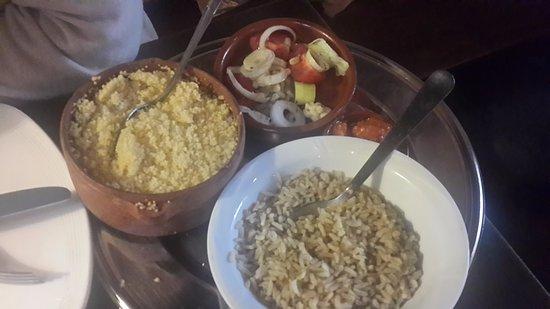 Ryad: khuskhus and rice