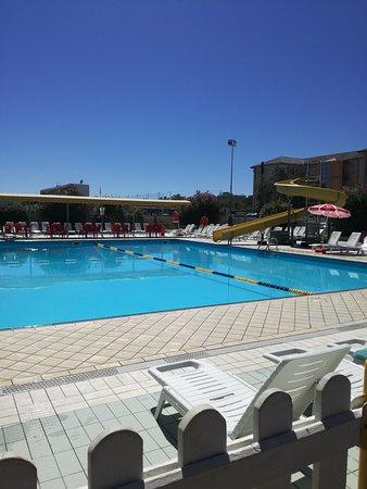 Cesenatico, Italia: La piscina