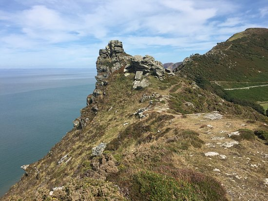 Valley of Rocks Walk-South West Coast Path