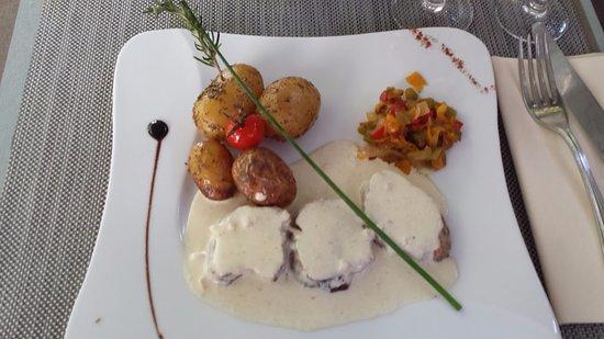 Main Dish Filet The Mignon Foto Van La Fleur De Sel Beaumettes