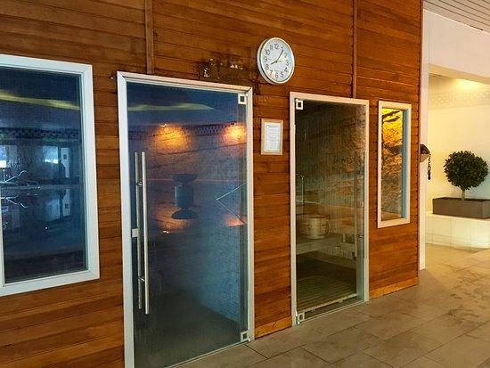 Menthon-Saint-Bernard, فرنسا: Hammam et sauna