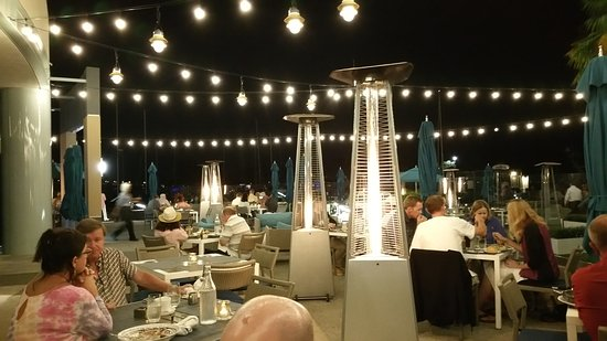 Restaurant patio heaters