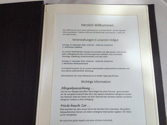 Werder upon Havel, Alemanha: Zum Rittmeister