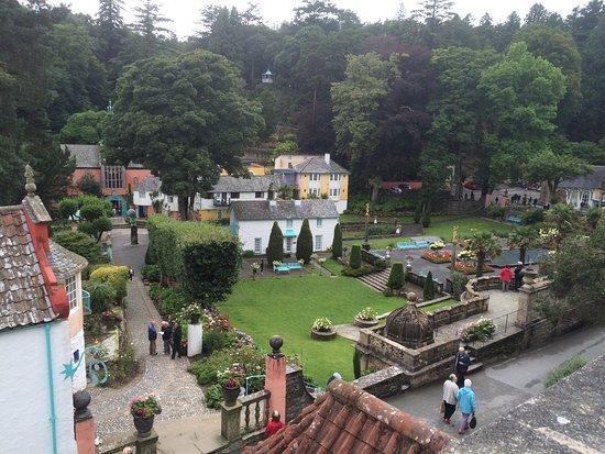 Portmeirion, UK: Ein diwrnod ym Mhortmeirion