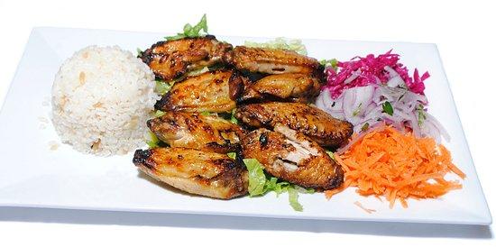 Sahara's Turkish Cuisine : Chicken Wings