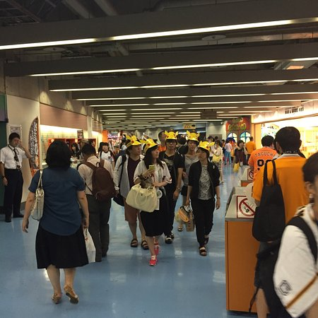 Tokyo Dome City : Pokemon night at the Tokyo Giants game!