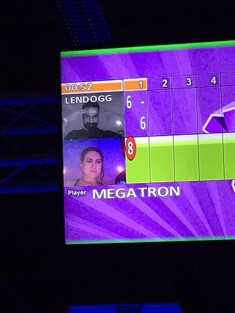 Tempe, AZ: Hilarious Bowling Screen