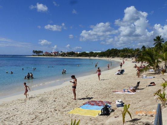 Сент-Франсуа, Гваделупа: vue générale de la plage basse