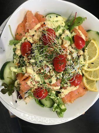 Flandes Occidental, Bélgica: Salmon salade