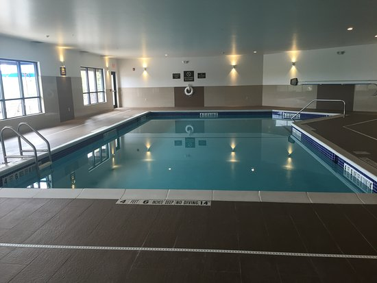 Comfort Inn Latham/Albany North: Indoor Pool