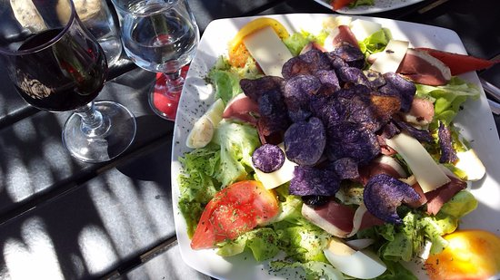 Joucas, France: Lunch salad