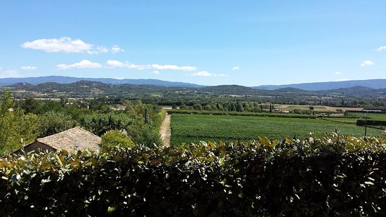 Joucas, Frankreich: Great view over the Luberom