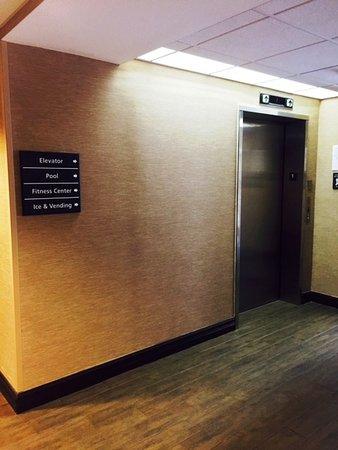 Hampton Inn Mount Dora: Elevator Lobby