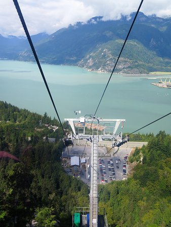 Squamish, Kanada: Riding the gondola