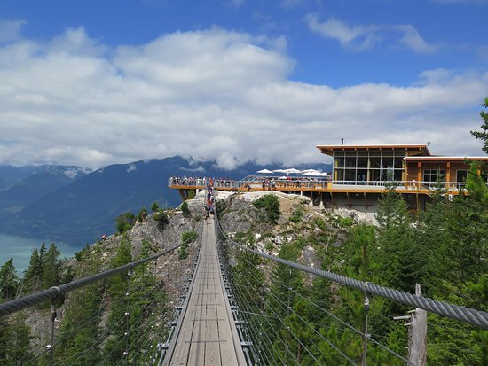 Squamish, Canada: Sky Pilot Suspension Bridge