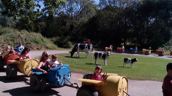 Wisborough Green, UK: Fun, barrel ride.