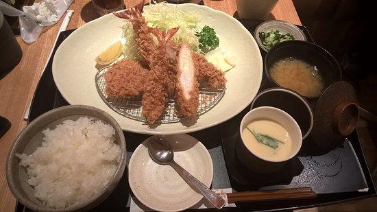 Tonkatsu Wako, Mylord Shinjuku: Misto Gamberi e Carne fritti leggerissimi