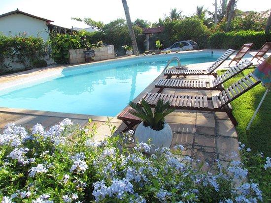 Espaco Monte Cristo: Excepcional piscina com 75 mil litros