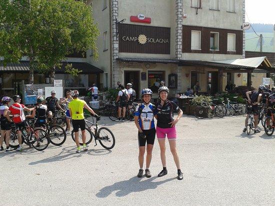 Pove del Grappa, Italia: Durante il Montegrappa bike day