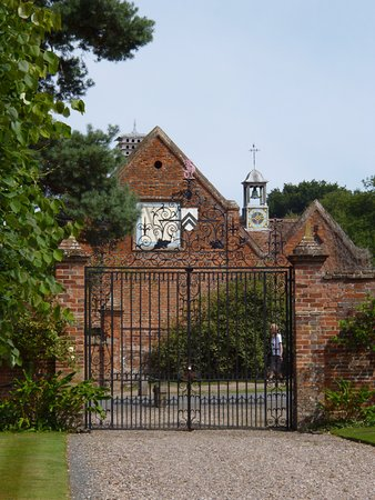 Lapworth, UK: View of the stable block.