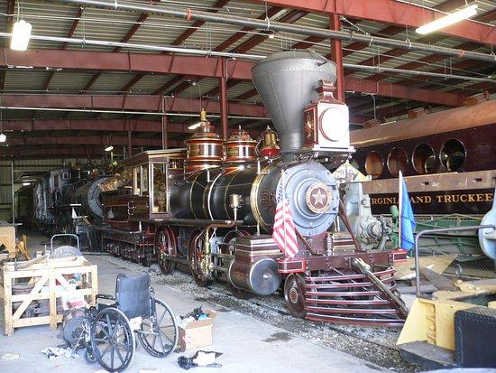 Carson City, NV: Экспонат музея