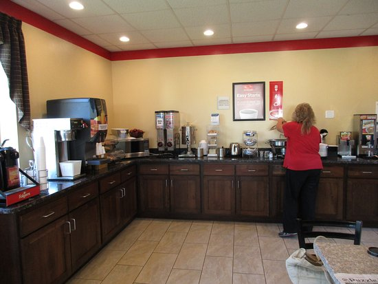 Econo Lodge: Breakfast area