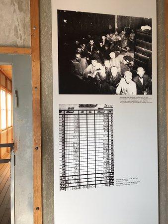 Dachau, Alemania: numero di progionieri all'interno delle barecche