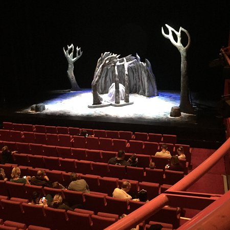 The Lowry: Scene from the Gruffalos Child