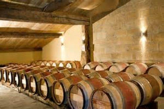 Lugaignac, France: les fûts de chêne