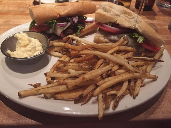 Lone Tree, CO: filet sandwich and fries