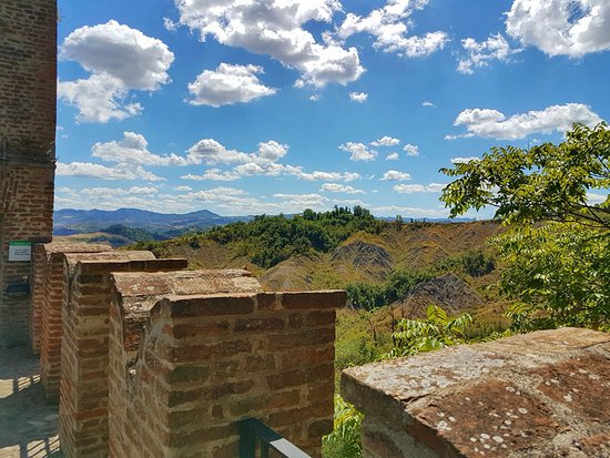 Monteveglio, Italia: Vista sulla valle