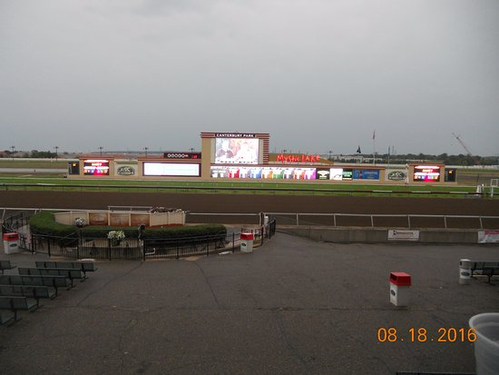 Canterbuy Downs Horse Racing Track: Finish Line