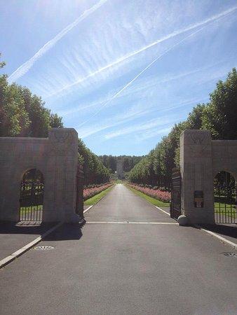 Fere-en-Tardenois, Francia: entrance