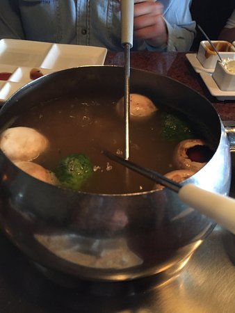 Littleton, CO: veggies in the broth for the meat