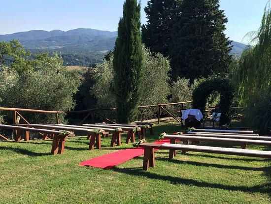 Rignano sull'Arno, İtalya: Girarrosto al Frassine