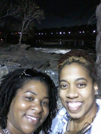 Columbus Riverwalk: Selfies