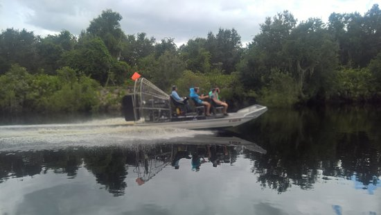 Arcadia, فلوريدا: On the Airboat