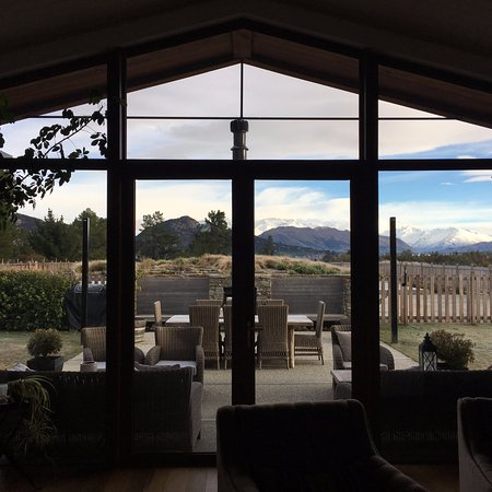 Wanaka Haven : Beautiful share common room view
