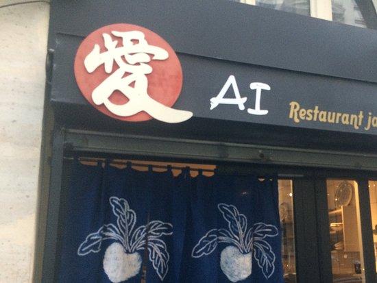 Restaurant japonais ai paris op ra bourse restaurant for Restaurant japonais cuisine devant vous paris