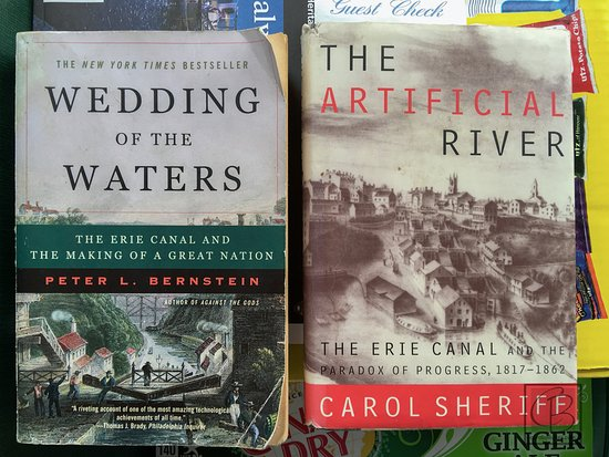 Adams Basin, Estado de Nueva York: books on the erie canal