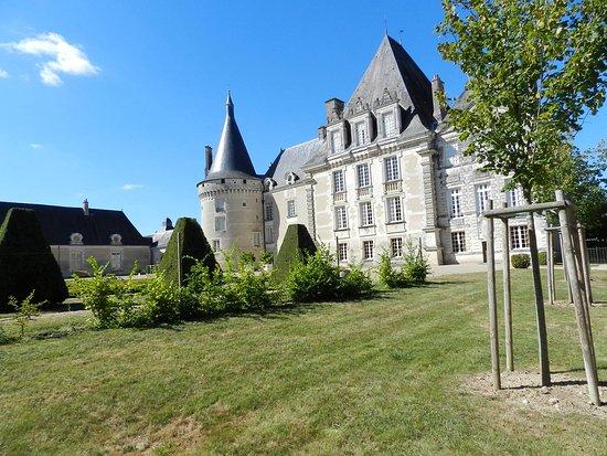 Azay-le-Ferron, Francia: Autre vue du château