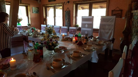 Siemiany, Pologne : Wedding dinner