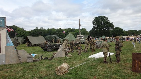 Paddock Wood, UK: Military World Show