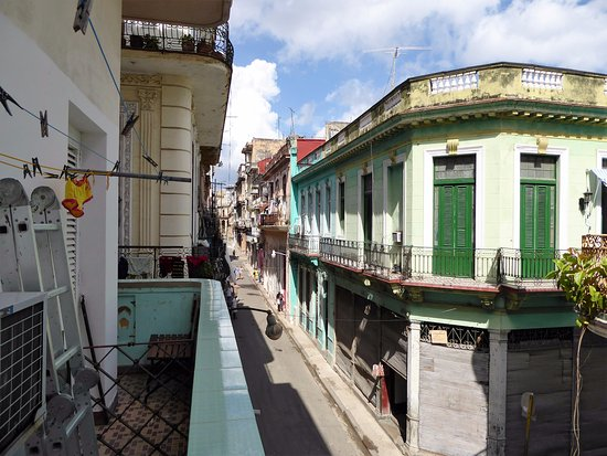 Casa Particular Isel e Ileana Havana : Vue du balcon