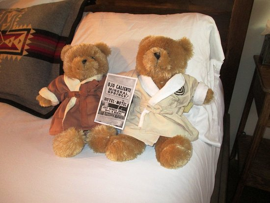 Оджо-Кальенте, Нью-Мексико: ojo cliente bears.... too cute!!
